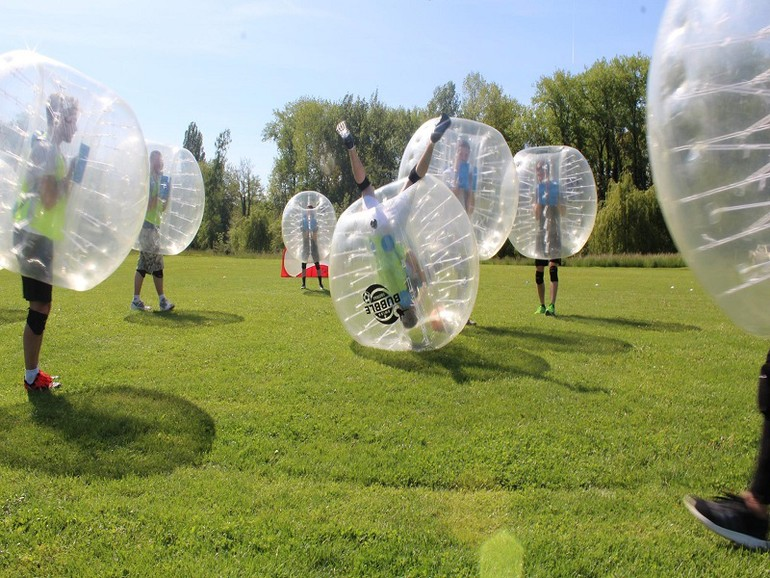 match de bubble foot