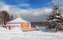 The Buryat Yurt, Siberia, Russia
